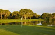 View Antalya Golf Club's scenic golf course in vibrant Belek.