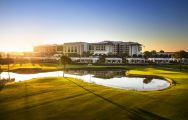 View Carya Golf Club's lovely golf course within striking Belek.