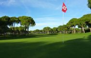 The Robinson Nobilis Golf Club's beautiful golf course within amazing Belek.