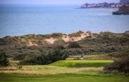 The Golf de Wimereux's scenic golf course situated in marvelous Northern France.