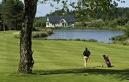 The Golf de Belle Dune's beautiful golf course within amazing Northern France.