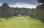 Golf d Hardelot Les Pins  Les Dunes Courses's picturesque golf course in pleasing Northern France.