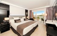 View Melia Alicante Hotel's picturesque marina view double beroom within dazzling Costa Blanca.