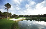 Montgomerie Maxx Royal Golf Course, the 17th hole