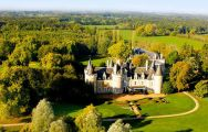 Chateau Golf des Sept Tours features lots of the best golf course around Loire Valley