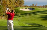 The Golf de Moliets's picturesque golf course in dazzling South-West France.