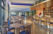 The Melia Benidorm Hotel's impressive restaurant situated in breathtaking Costa Blanca.