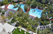 View Melia Benidorm Hotel's scenic main pool situated in vibrant Costa Blanca.