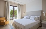 The Melia Villaitana Hotel's beautiful double bedroom situated in amazing Costa Blanca.