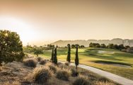 The Villaitana Levante Golf Course's scenic golf course in vibrant Costa Blanca.