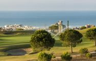 The Villaitana Levante Golf Course's picturesque golf course situated in impressive Costa Blanca.