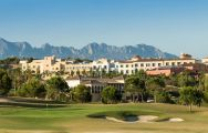 The Villaitana Poniente Golf Course's scenic golf course situated in marvelous Costa Blanca.