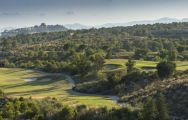 View Villaitana Poniente Golf Course's beautiful golf course situated in impressive Costa Blanca.