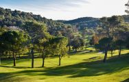 View Golf Country Club Cannes Mougins's lovely golf course within impressive South of France.