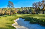 View Golf Country Club Cannes Mougins's lovely golf course in vibrant South of France.