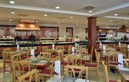 The Sol Pelicanos Ocas Hotel's beautiful restaurant within brilliant Costa Blanca.
