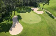 The Golf de Barbaroux's lovely golf course in stunning South of France.