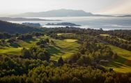 The Golf Dolce Fregate Provence's impressive golf course in incredible South of France.