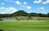 All The Laem Chabang International Country Club's impressive golf course in faultless Pattaya.