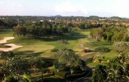 The Laem Chabang International Country Club's picturesque golf course in incredible Pattaya.