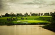 The Pattana Sports Club's lovely golf course within magnificent Pattaya.