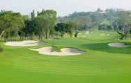 The Siam Country Club Old Course's impressive golf course within astounding Pattaya.