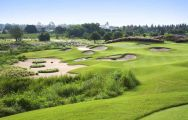The Siam Country Club Plantation Course's beautiful golf course in striking Pattaya.