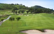 The Siam Country Club Plantation Course's lovely golf course within sensational Pattaya.