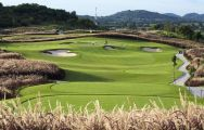 View Siam Country Club Plantation Course's impressive golf course within incredible Pattaya.