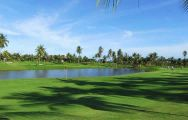 The Eastern Star Country Club's lovely golf course situated in vibrant Pattaya.