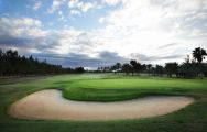 View Maspalomas Golf Course's beautiful golf course within dramatic Gran Canaria.