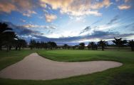 The Maspalomas Golf Course's lovely golf course situated in staggering Gran Canaria.