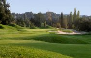 The Royal Mougins Golf Club's lovely golf course within brilliant South of France.