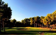 The Poniente Golf Course's impressive golf course situated in gorgeous Mallorca.
