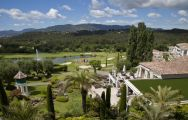 The Royal Mougins Golf Club's picturesque golf course in spectacular South of France.