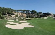 The Lumine Hills's lovely golf course within impressive Costa Dorada.