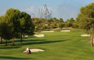 All The Lumine Hills's beautiful golf course within marvelous Costa Dorada.