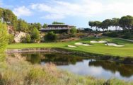 View Lumine Hills's lovely golf course in magnificent Costa Dorada.