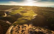 View West Cliffs Golf Links - Praia del Rey's picturesque golf course within striking Lisbon.