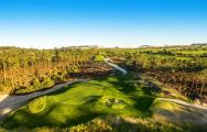 The West Cliffs Golf Links - Praia del Rey's scenic golf course within dazzling Lisbon.