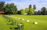 All The Evian Resort Golf Club's impressive golf course situated in magnificent French Alps.