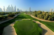 All The Emirates Golf Club's impressive golf course in astounding Dubai.