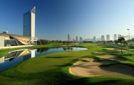 Emirates Golf Club has several of the most popular golf course near Dubai