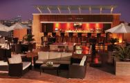 Media Rotana Outdoor Bar Area