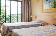 The Formosa Park Hotel's impressive twin room situated in staggering Algarve