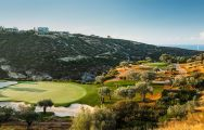 The The PGA National Cyprus's impressive golf course within impressive Paphos.