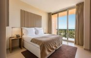 The Hotel Salgados Dunas Suites's lovely double bedroom in gorgeous Algarve