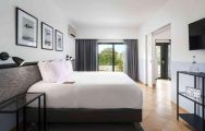 Magnolia Golf and Wellness Hotel's stunning double bedroom in breathtaking Algarve