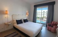 The Marina Club Lagos Resort's impressive double bedroom situated in sensational Algarve.