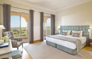 The Monte Rei Golf  Country Club's lovely double bedroom in marvelous Algarve.